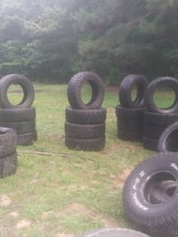 Mud tires for sale size 17 and up $150 obo Raymond, 39154