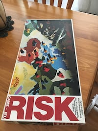 Risk Game. Parker Brothers 1976 Edition. Made in Canada. Perfect condition Cochrane, T4C 1K6