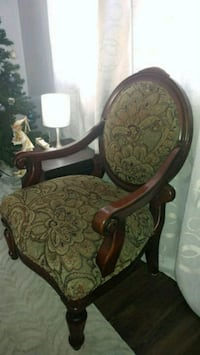 Solid wood upholstered arm chair for sale Toronto, M4T 1B4