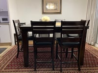 High table/chair dinning table  Toronto, M1T 3J4