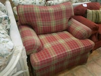 PLAID LIVING ROOM CHAIR Forest Hill, 21050