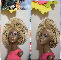 African head gear (gele)
