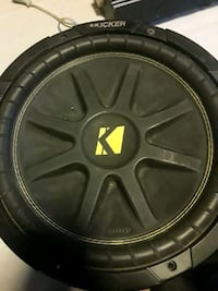 black and gray Kicker subwoofer Bakersfield, 93304