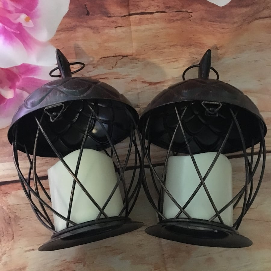 Metal Acorn Lanterns-NEW 4f13f275-2dcb-4345-91c1-5060e38db5e7