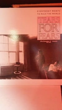 """Tears for Fears 12"""" Vinyl and Toronto, M1P 2H8"""