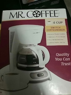 New Mr Coffee 4 cup