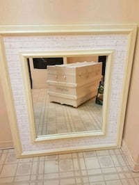 Large  French  script  mirror Whitby, L1N 8X2