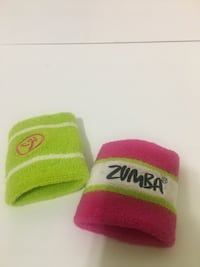 Zumba Wrist Sweatbands
