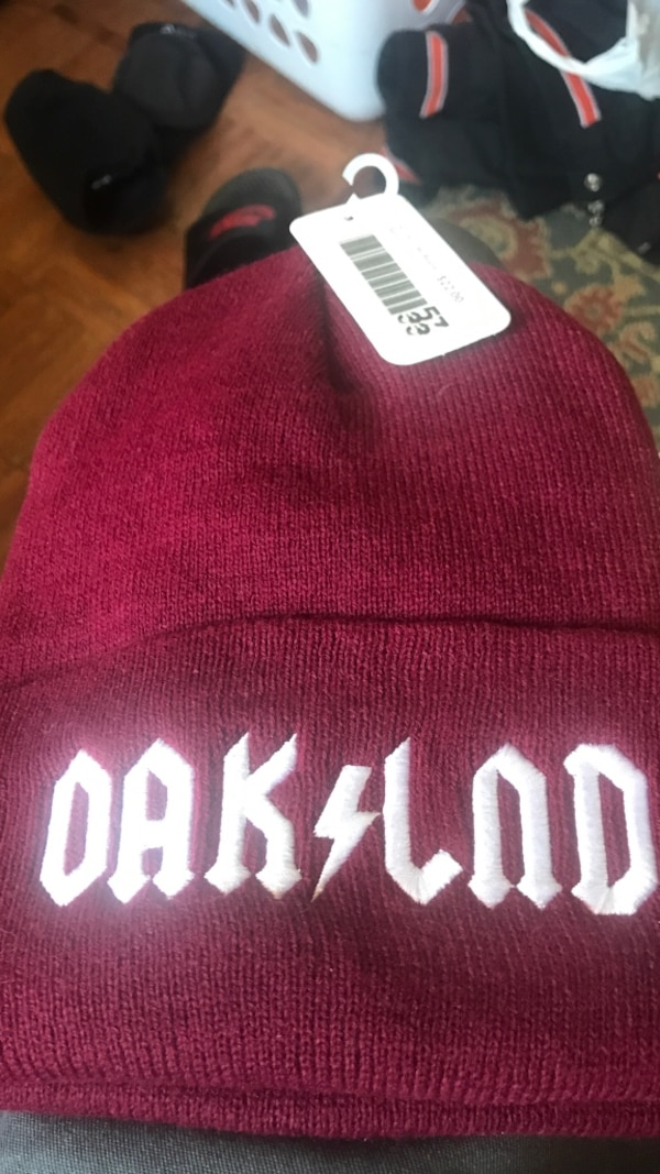 Used Ac dc Oakland beanie new for sale in South San Francisco - letgo ecac2ae3723