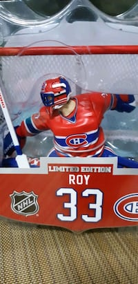 """6"""" NHL Patrick Roy Limited Edition figure. Maple, L6A"""