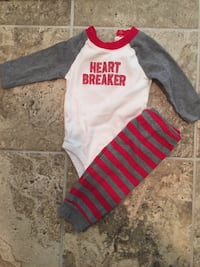 6 month Valentine outfit Ashburn, 20147
