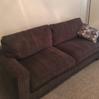 brown fabric 2-seat sofa Austin, 78745