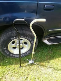 Two adjustable canes $25 frm Harrington, 19952