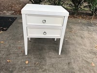 Two Drawer Wooden Nightstand West University Place, 77005