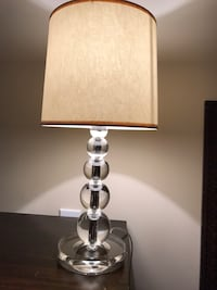 Pottery Barn stacked crystal bedside table  Chevy Chase, 20815