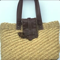Woven Hand Bag by Express