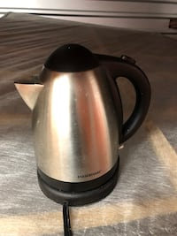stainless steel and black electric kettle Falls Church, 22046