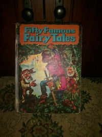 Vintage(1954) Fifty Famous Fairy Tales Book Huntsville