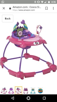 baby's pink and purple walker Austin, 78759
