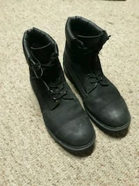 Black Waterptoof Timberland Boots(Mens 12) Pasadena, 21122