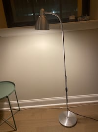 Silver Ikea Reading Lamp