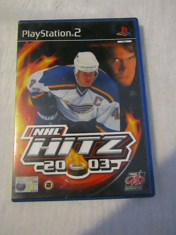 NHL HITS PS2 game