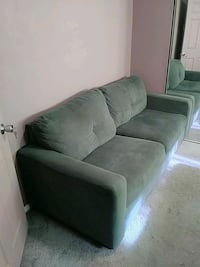 Gray fabric 2-seat sofa length 80 inches Los Angeles, 91325