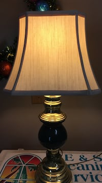 Table lamp, green with ivory shade Fort Myers, 33905