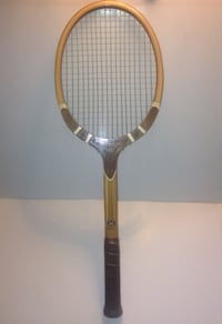 Vintage TAD Davis Imperial Laminated Collectible Tennis Racquet London