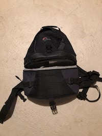 LowPro padded camera bag and backpack
