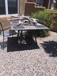 Patio table chairs NFS Albuquerque, 87102