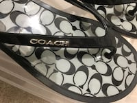 Coach sandals size 7 Mississauga, L5N 7G5