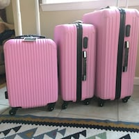 4 wheels spinner light weight 3 pieces luggage  San Jose, 95111