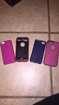 Four assorted iphone 5 cases Avenal, 93204