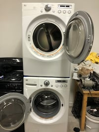 LG front load washer & LG front load gas dryer set  Chicago, 60629