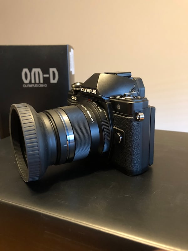 Olympus omd em-10 mark ii with 2 lens 4