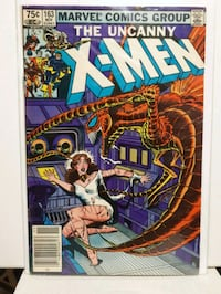 X-Men #163 Origin of Binary ( Carol Danvers ) Brampton, L7A 2R8