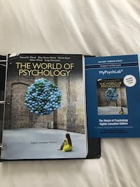 """The world of psychology"" in good condition, never even used it. Price is negotiable."