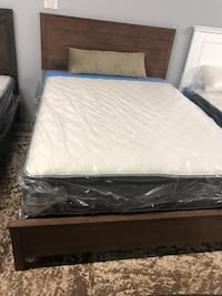 Brown Wooden Bed for sale Santa Ana, 92701
