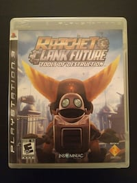 PS3 Ratchet & Clank Future Tools of Destruction