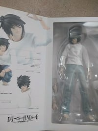 L Death Note Real Action Heroes Anime Figure Langley