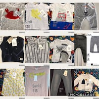 assorted clothes and pants collage The Ponds, 2769