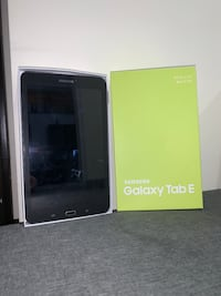 New 10/10 conditions galaxy tab E Toronto, M9M 1N5