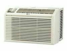 white window-type AC unit