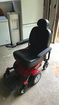 Black and red powered wheel chair Muskoka Lakes, P1L 1X4