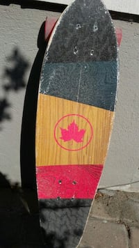 red and black skateboard deck Calgary, T2X