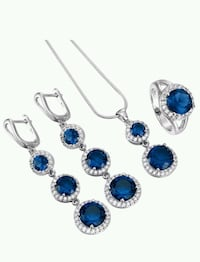 New S925 stamped jewellery set Calgary, T1Y 2G5
