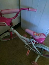 toddler's pink and white bicycle Gaffney, 29341
