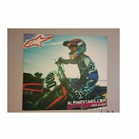HUGE Alpine Star Motocross wall piece! Citrus Springs, 34434