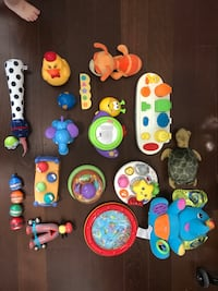 toddler's assorted plastic toys Mississauga, L5B 0E8